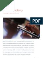 Leaflet KEMA Academy