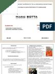 Exposé sur Mario BOTTA