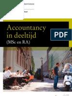 Brochure Accountancy in Deeltijd Aan de ABS
