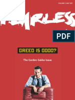 Vol 1 - Greed is Good