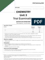 STAV 2009 Chemistry Exam 1