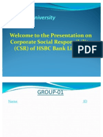 CSR of HSBC