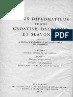 Codex Diplomaticus I