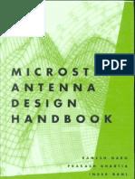 Micro Strip Antenna Text Book