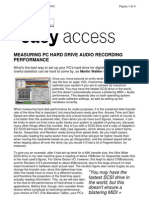 (Pc Hard Drive Audio Recording