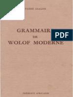 Grammaire de Wolof Moderne