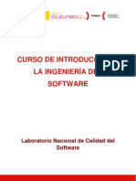 Curso de Introducción a la Ingenieria del software