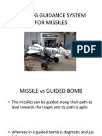 Homing Guidance System for Missiles