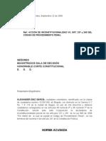 DEMANDA DE INCONSTITUCIONALIDAD EN CONTRA DE LOS ARTS. 237 Y 245 CÓDIGO DE PROCEDIMIENTO PENAL COLOMBIANO, POR VIOLACIÓN DE DATOS PERSONALES