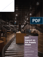 GST Impact on the Supply Chain