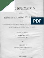 Codex Diplomaticus II