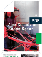 Camden Arts Centre Catalogue, Alex Schady and Hadas Kedar, 2011
