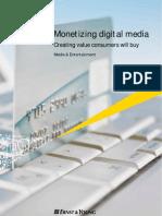 Monetizing Digital Media