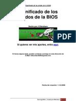 Guía de significado de los pitidos de la BIOS