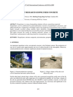 Recent Research Geopolymer Concrete