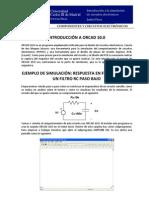 OCW-CCE P1 Introduccion Simulacion Circuitos Electronicos