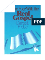 Face to Face With the Real Gospel