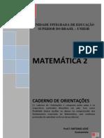 MÓDULO DE MATEMÁTICA 2 - Uniesb