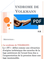 Syndrome de Volkmann