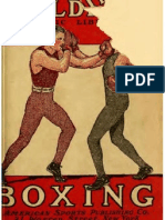 Boxing, A Guide to The Manly Art of Self Defense - The Spalding Libary 1917