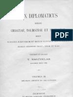 Codex Diplomaticus III