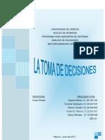 Resumen Analisis de Decisiones Dayana Rosas
