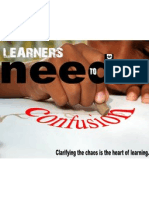 Learners Confusion