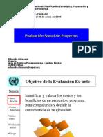 Evaluacion Social PROYECTOS