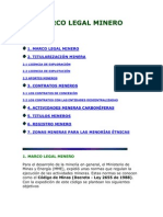 Upme-marco Legal Minero