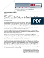 WSJ - What if Jews Had Followed the Palestinian Path