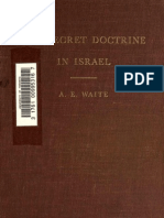 The Secret Doctrine in Israel