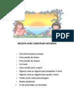 RECEITA PARA CONSTRUIR HISTÓRIAS (cartaz)