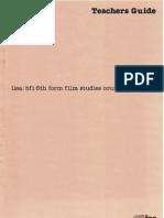 ILEA-BFI Film Studies Course 1982-3