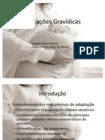 modificações gravidicas
