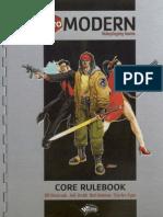 D20 Modern - Core