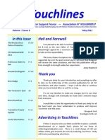 Touch Lines May 2011 - Cancer Support France Newsletter