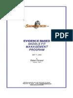 Evidence Base Saddle Fitting 2004