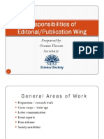 Task - Society Publication Wing