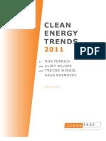 Clean Energy Trends 2011