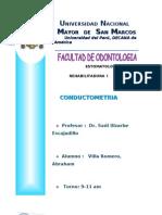 Informe Conductometria