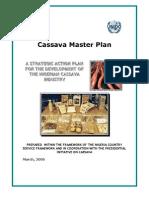 Cassava Master Plan