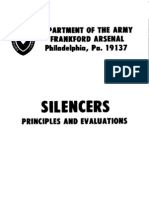 Department of the Army-Silencers-Principles Evaluations