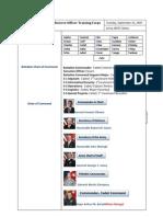 JROTC Handout of 2011