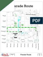 2011 WWA Parade Route