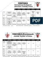 Timetable International BG Skills Nov&Dec 2011