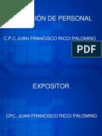 Sistema Integrado de Seleccion de Personal