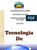 Tecnologia de Internet Exp.