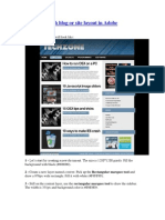 Creating a Tech Blog or Site Layout in Adobe Photoshop