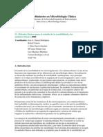 Métodos Básicos para el estudio de la sensibilidad a los antimicrobianos