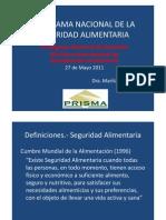 Panorama Nacional de La Seguridad Alimentaria-270511-2[1]